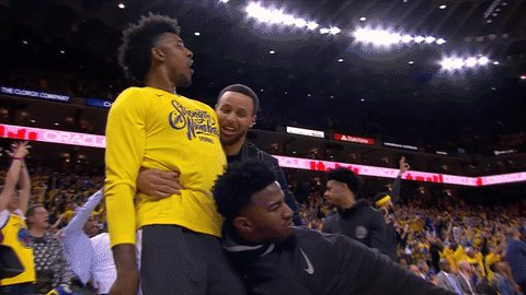 Check out the best bench reactions from the postseason (so far) 😃on.nba.com/2HNS1ka