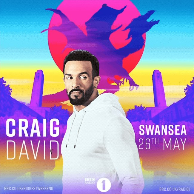 Getting ready for @BBCR1 #BiggestWeekend in Swansea tomorrow 👏🏽🎶❤️ I'll be on the main stage at 7:45pm 👀🙌🏽 https://t.co/8WKGSS4G93