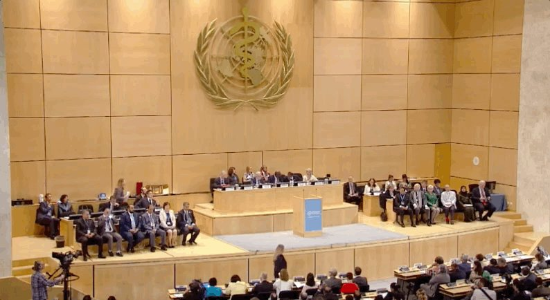 #WHA71 Ready for the awards ceremony for people, institutions who make a difference on #publichealth. Watch live: bit.ly/2wXhYwR
