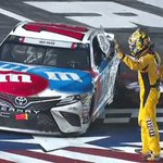 RT @NASCAR: A well-deserved bow for @KyleBusch.  C...