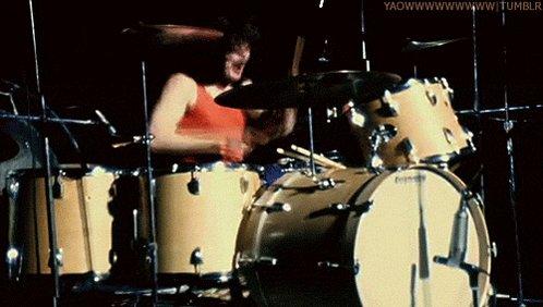 Happy birthday to John Bonham! Greatest drummer in Rock History!