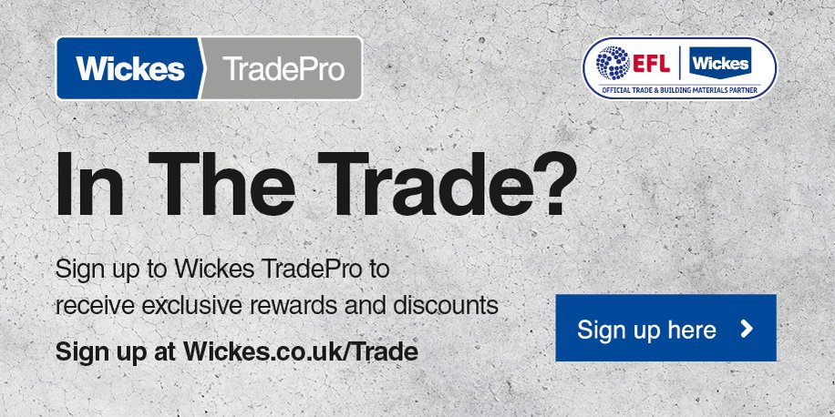 In the Trade? Receive exclusive rewards, discounts and benefits when you become a @Wickes TradePro member. To find out more visit bit.ly/2KqIW2N