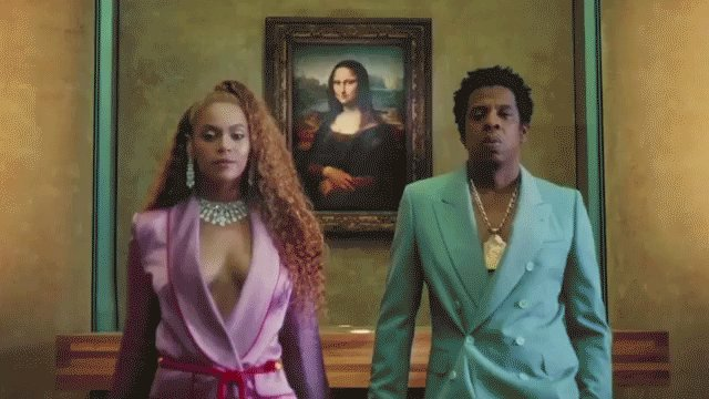 Thanks, @beyonce + @S_C_ . APESH**T by The Carters is available now → youtu.be/kbMqWXnpXcA