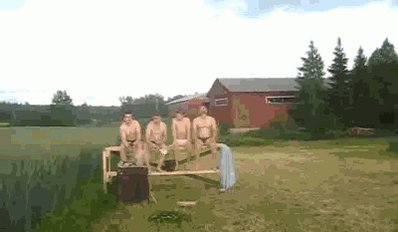 @sweden We feel you in Finland. This was our GIF, trevlig midsommar in advance: