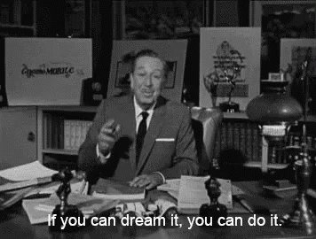 """""""If you can dream it, you can do it."""" ~ Walt Disney #BMRtakeover"""