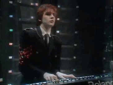 "Happy Birthday Nick Rhodes, I will always remember seeing you in the 80\s and thinking, ""hmmm.\"""