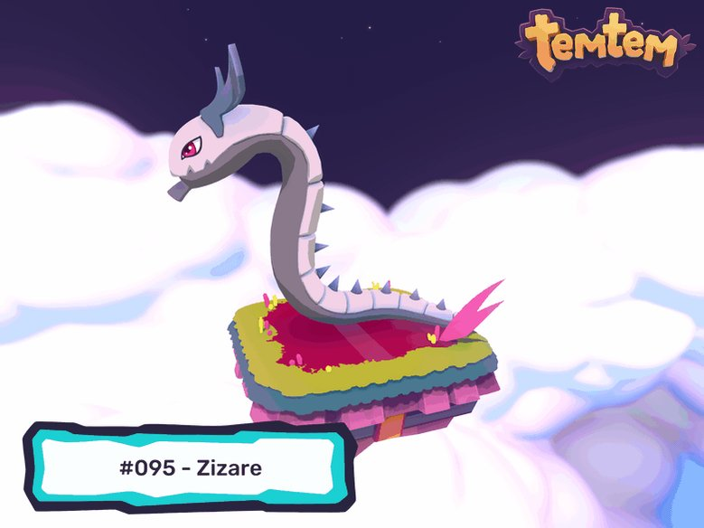 One of the most remarkable inhabitants of the Kisiwan savanna, the powerful Zizare are the biggest creeping Temtem. Proud and territorial, they make for staunch friends.