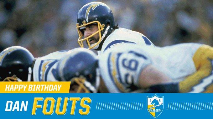 Happy Birthday, Dan Fouts!