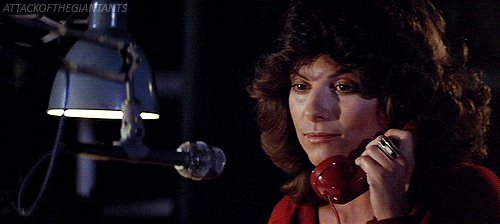 May I speak with Adrienne Barbeau?  Happy birthday!  And be careful with the fog...