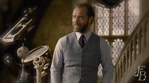 Dashing Dumbledore moment. #FantasticBeasts