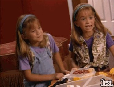 Just wanna throw a quick happy birthday shoutout to Mary-Kate and Ashley Olsen.