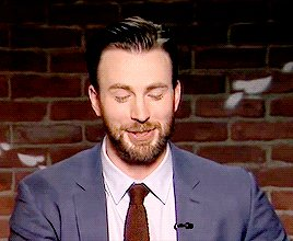 Happy 37th birthday to this giant teddy bear left boob grabber, chris evans!