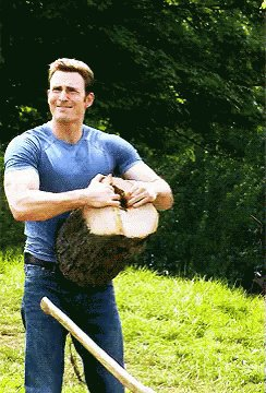 Happy birthday to the fine ass man that is chris evans