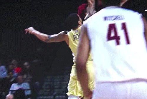 This man wants to shut down NBA stars. More on a @GTMBB product » on.nba.com/2HPx6MO