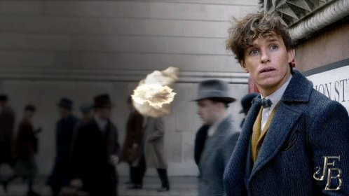 He is not a great follower of orders. #FantasticBeasts