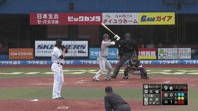 千葉ロッテ・ボルシンガー投手の完封勝利の瞬間。(部) #chibalotte #ボル神ガー