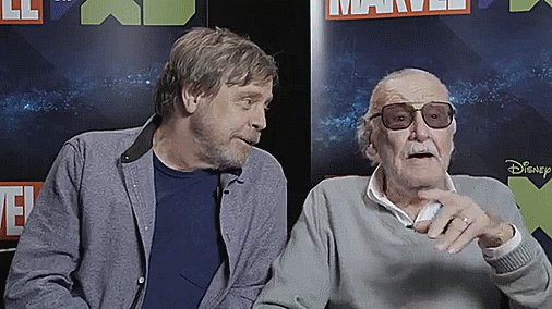 Its not a crime to want to take over the world. @TheRealStanLee and @HamillHimself talk supervillains, voice acting, and more: youtu.be/h8BZrGPdpIM.