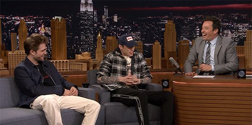 On #FallonTonight - it is fun as always with Robert Pattinson, Pete Davidson, and @brckhmptn doing a cool performance that you won't see anywhere else.