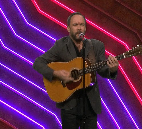 Tonight Dave Matthews gives us a taste of a new album hes been working on #DaveMatthewsSingsTrapMusic #FallonTonight