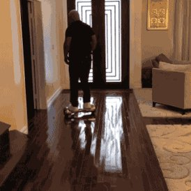 Happy Birthday to Mike Tyson: proof that no-one looks tough on a hoverboard.