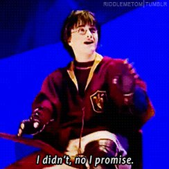 Your bank account: Did you spend all your money on #HarryPotter merch AGAIN?! You, lying: