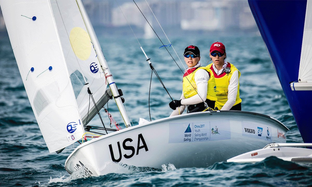 American duo returns to Youth Worlds in #CorpusChristi to defend their title from 2017! 🥇🇺🇸🌎