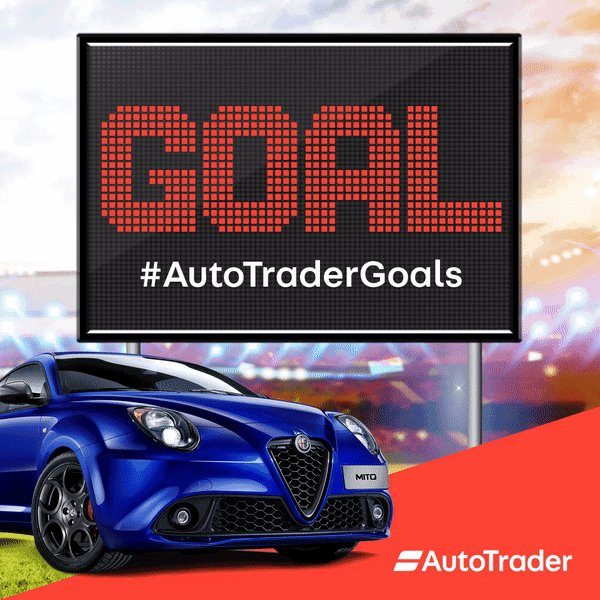 We're getting a real kick out of giving away new cars now! If you want to be in the driving seat of a brand new Alfa Romeo MiTo, tweet #AutoTraderGoals NOW! T&Cs: autotrader.co.uk/goals