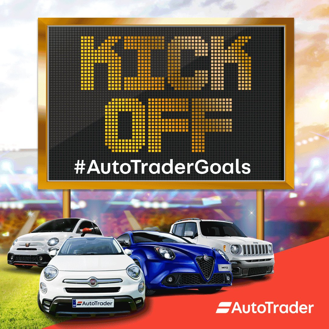 It's almost over! This is your final chance to win a brand new car. Just tweet #AutoTraderGoals every time England score for the chance to win! #ENGBEL