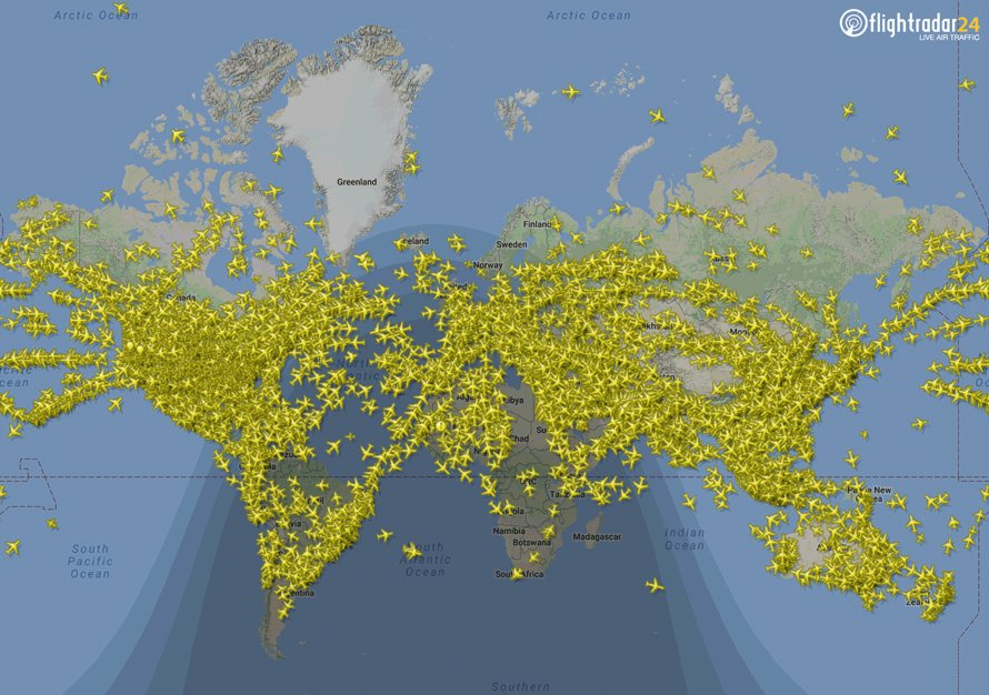 Air Traffic Map Live.Flightradar24 On Twitter Another Flight Tracking Record Yesterday