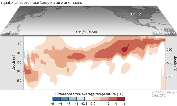 Image for the Tweet beginning: ICYMI: The latest ENSO update