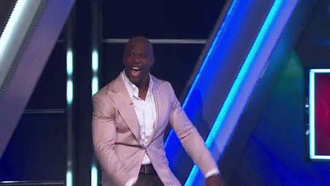Kids, this is what Flint strong enthusiasm looks like and it's glorious. @terrycrews #100KPyramid