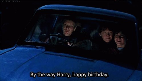 Happy Birthday, Harry Potter! (Oh, and  also amazing J.K. Rowling.)
