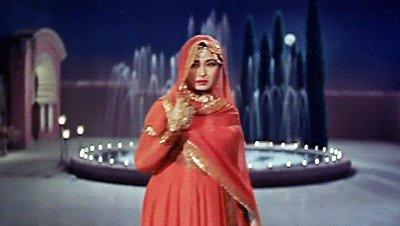 "\""Mahjabeen Bano\"" The Legend!                    Tragedy Queen of India Cinema! - Meena Kumari. Happy Birthday!"