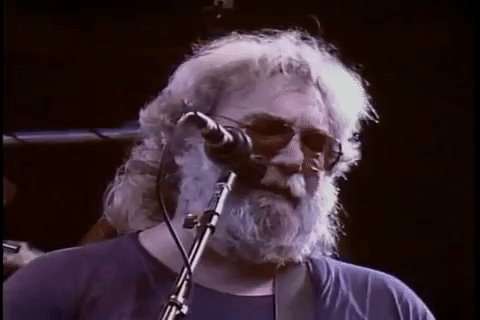 Happy Birthday Jerry Garcia: Watch the Grateful Dead Play \Deep Elem Blues\ Acoustic in 1981