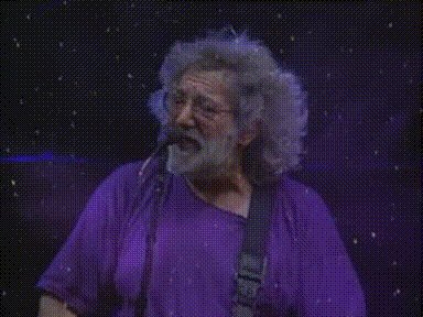 Happy Birthday Jerry Garcia.  Jerry would have been 76 and probably still ripping it.