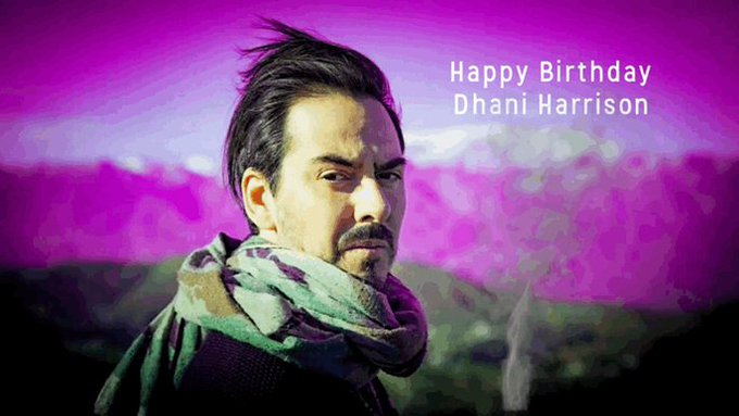 A big HAPPY BIRTHDAY shoutout to DHANI HARRISON wishing you the very best on this your special day.