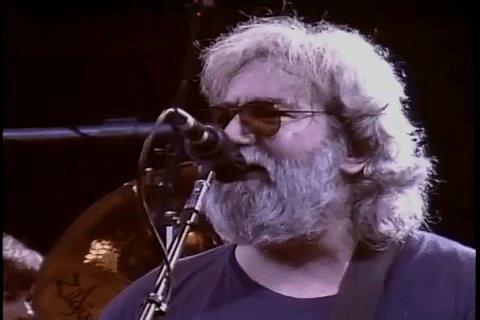 Happy Birthday to the legend Jerry Garcia
