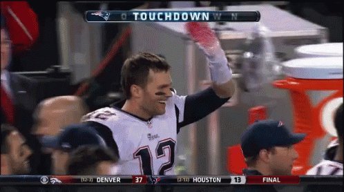 Happy 41st birthday to the Tom Brady.   Hopefully some high-five this man at practice today.