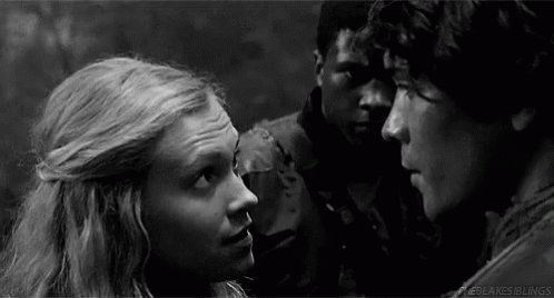 I loro sguardi  #The100 #Bellarke  - Ukustom