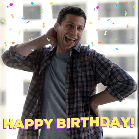 Happy birthday Andy Samberg! 🎉 Hit up @thelonelyisland with a noice GIF in the replies!