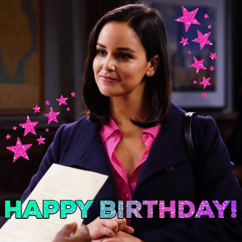 Get your party binders out, folks! It's @melissafumero's birthday! 🎉