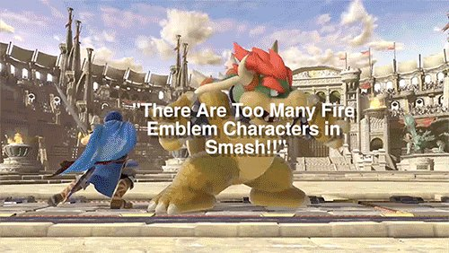Sakurai's response to the complaints of 'too many Fire Emblem characters in Smash' is just...