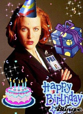 Happy Birthday Gillian Anderson