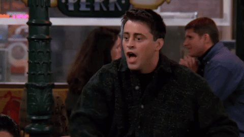When some says they haven't seen #Friends.