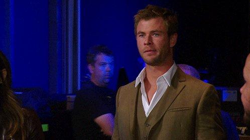 Happy birthday the wonderful and amazingly talented Chris Hemsworth