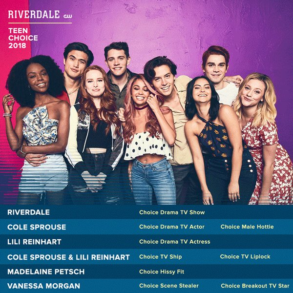 Riverdale's photo on #TeenChoice