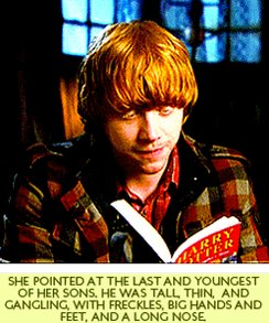 Happy Birthday to otherwise known as Rupert Grint! That young boy is now 30.
