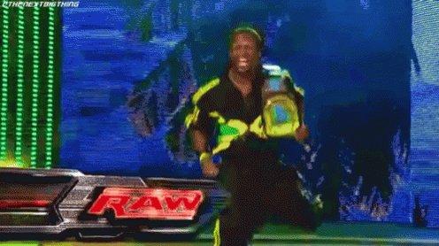 Happy Birthday to Kofi Kingston, New Day member and my favorite childhood WWE superstar!