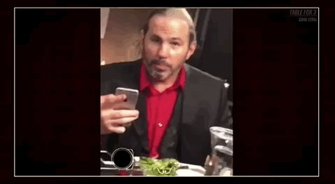 #TableFor3 is streaming RIGHT NOW on @WWENetwork, and @XavierWoodsPhD @ZackRyder & @MATTHARDYBRAND are goin VIRAL! wwe.me/57D0E7