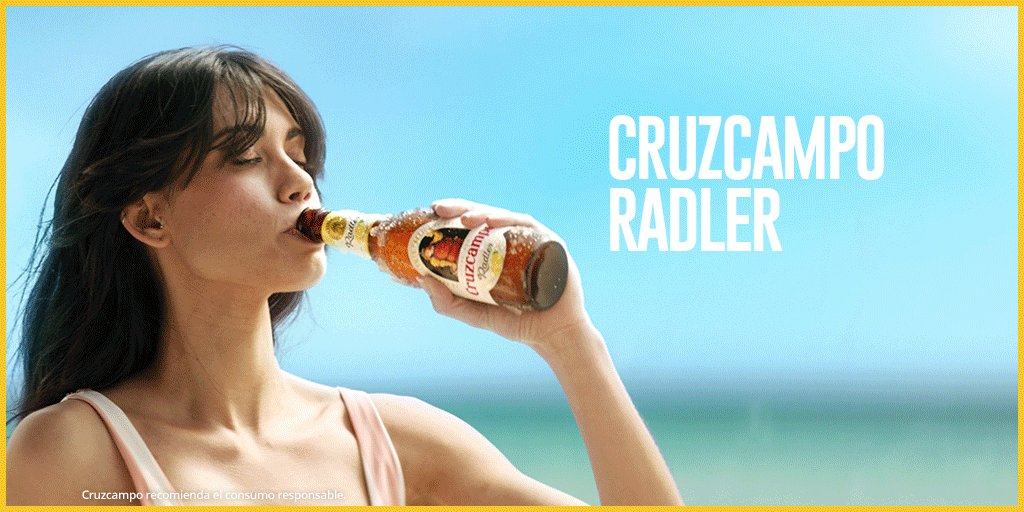 @candela_mara @citucapereda Y qué mejor que recibirlos con una buena Radler #doblementerefrescante. Reviven seguro, Candela